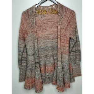 Knitted & Knotted   Cody Peplum Cardigan